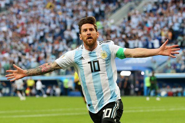 Kemenangan Untuk Argentina Saat Melawan Nigeria 2-1