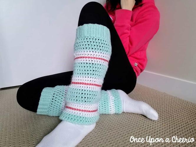 Wreck-it-Ralph Comfy Princess Leg Warmers Free Crochet Pattern