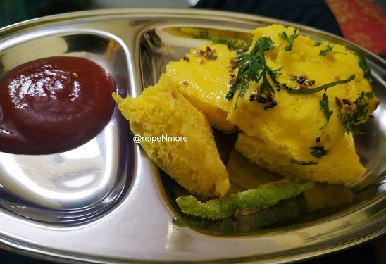 खमण ढोकळा | khaman dhokla recipe in marathi