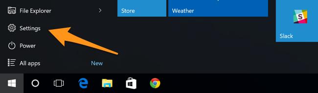 Truy cập Personalization từ  PC Settings