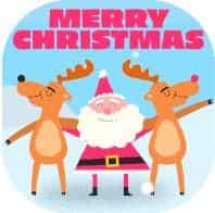 gif natal dan tahun baru