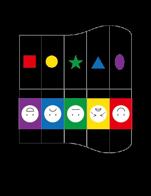 自製玩具-風琴投卡盒 主題圖卡 01