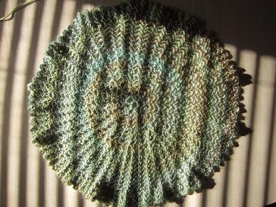 crochet, circle vest, Red Heart Boutique Unforgettable