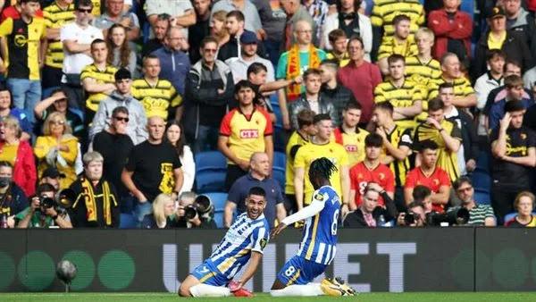 اهداف مباراة برايتون وواتفورد (2-0) الدوري الانجليزي