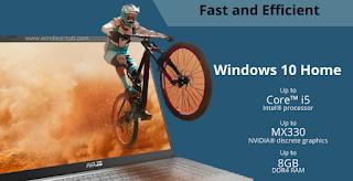 Laptop cepat dan efisien