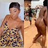 Secret behind the viral video of a young lady who ran mad and gone naked on the street
