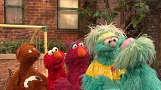 Rosita, Rosita's Abuela, Elmo, Baby bear, Telly, Sesame Street Episode 4415 Rosita's Abuela season 44