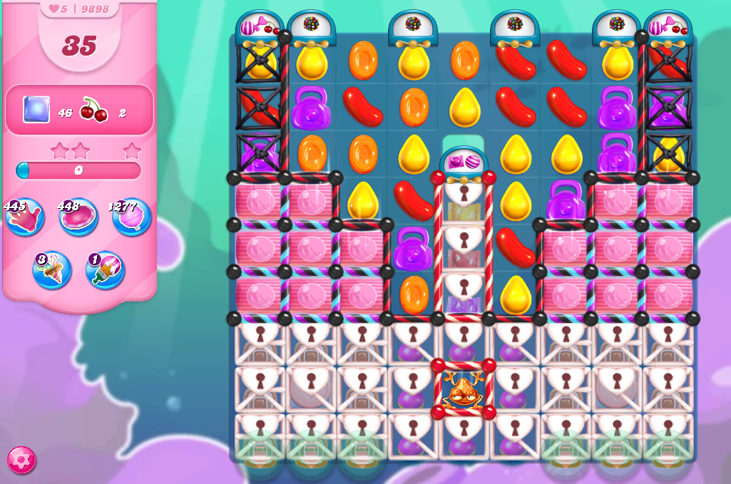 Candy Crush Saga level 9898