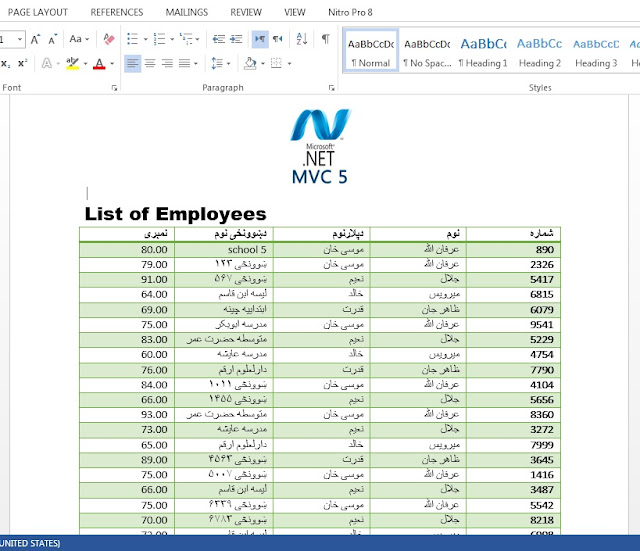 Generate MS Word( docx) in Asp net MVC - asp net tips and tricks