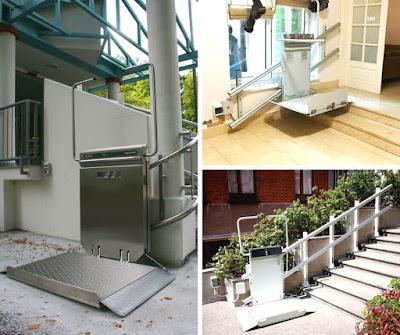 Platformy schodowe na schodach prostych i krzywoliniowych
