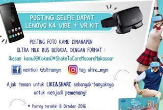 Kontes Foto oktober hadiahnya Lenovo K4 ama VR Kit