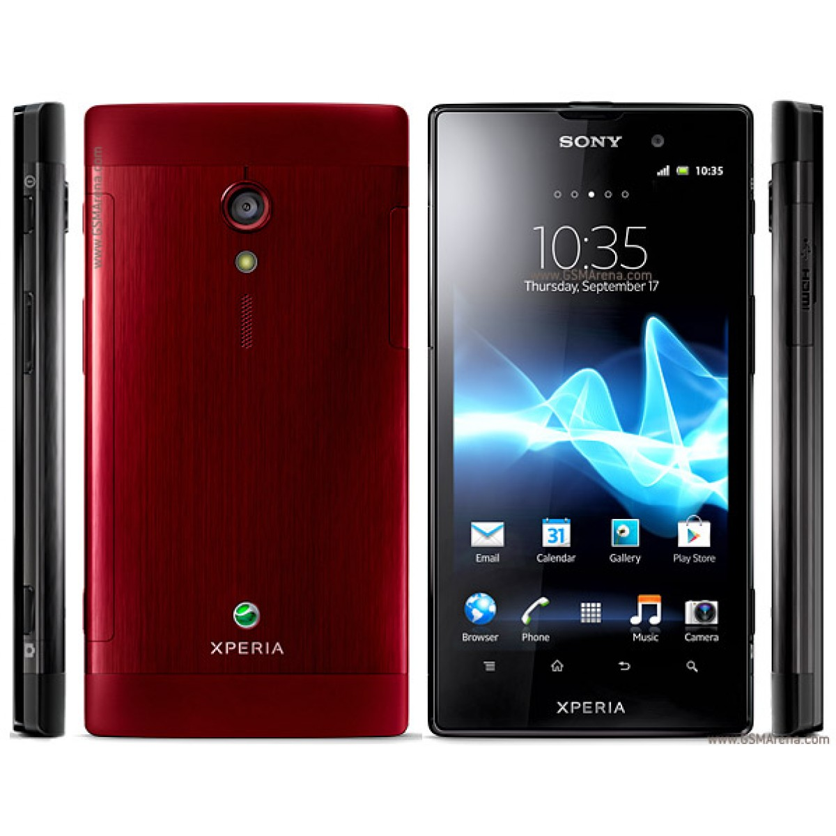 sony xperia ion android touchscreen 1000s new mobile