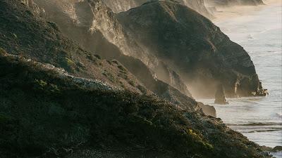 Landscape, Sea, Coast, Rocks, Fog