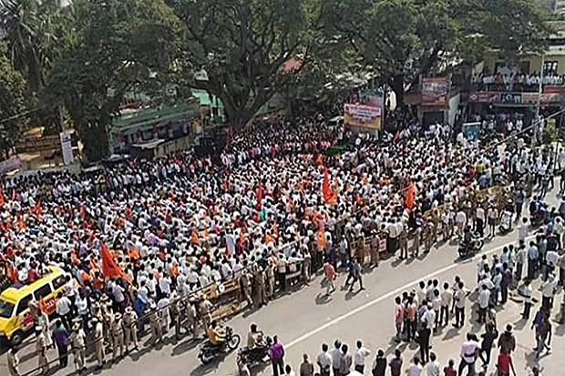 Massa Hindu Garis Keras di India Protes Patung Raksasa Yesus