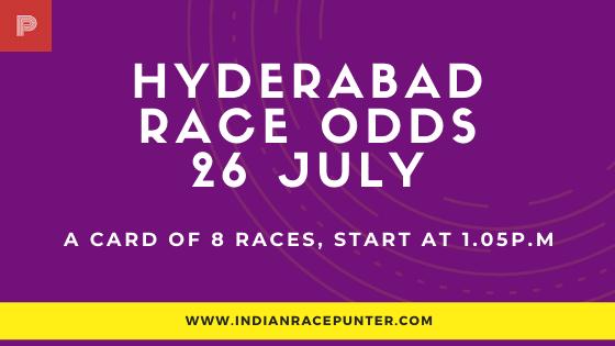 Hyderabad Race Odds 26 July