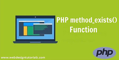 PHP method_exists() Function