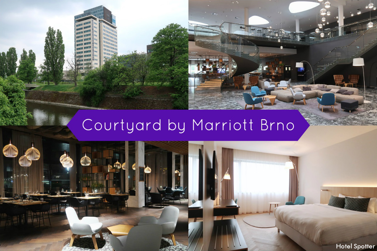 Courtyard by Marriott Brno - recenzja hotelu - Hotel Spotter