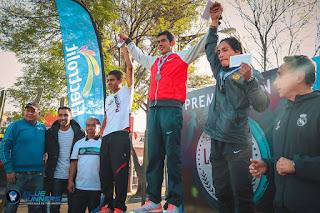 Fotos de los ganadores de la Carrera de la Candelaria Edición 86