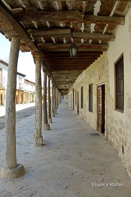 Calles de Ampudia, Palencia