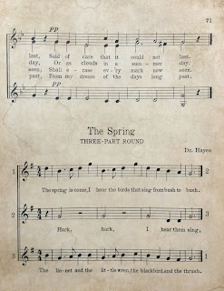 Freebie Friday: Vintage Sheet Music Printable from My Porch Prints
