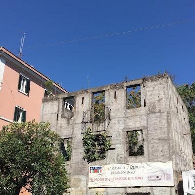 Rudere Bombardamento San Lorenzo