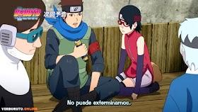 Boruto: Naruto Next Generations Capítulo 185 Sub Español HD