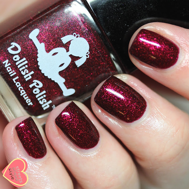 Dollish Polish Blood Like Liquid Fire Polish Pickup