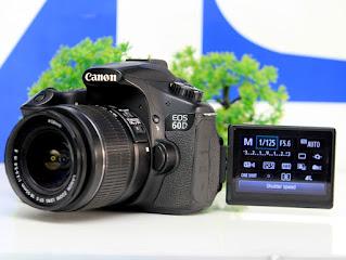 Kamera DSLR Bekas - Canon EOS 60D