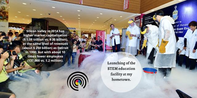 Launching of STEM program in Penang Malaysia