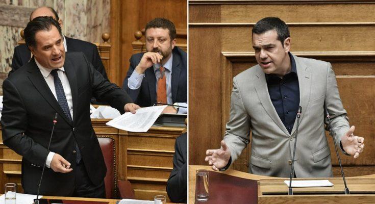 Τον βάραγε σαν χταπόδι τον Τσίπρα ο Άδωνις της Βουλής! (βίντεο)