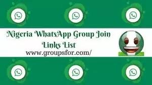 Active Nigerian Whatsapp Group Link List in 2020