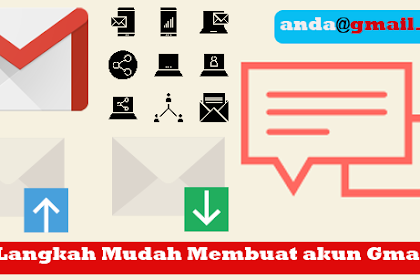 Langkah Termudah Membuat Akun Email Gmail (Update)