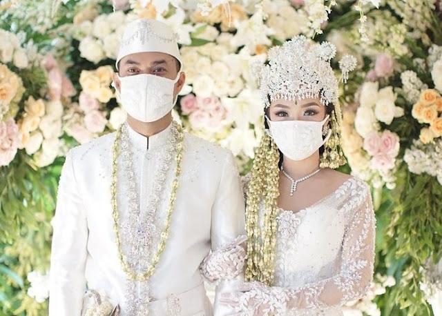 sirajudin dan zaskia gotik resmi menikah