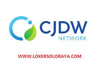 Loker Solo Baru Lulusan D3/S1 di PT Central Java Daya Wiguna Indonesia (CJDW Indonesia)
