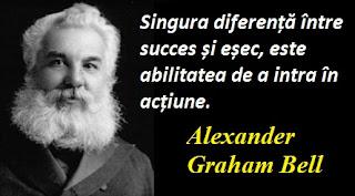 Citatul zilei: 3 martie - Alexander Graham Bell