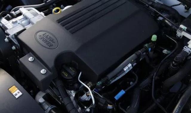 2018 Land Rover LR4 Engine