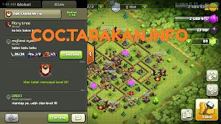 Clan THM TARAKAN coc Telah Mencapai Level 16