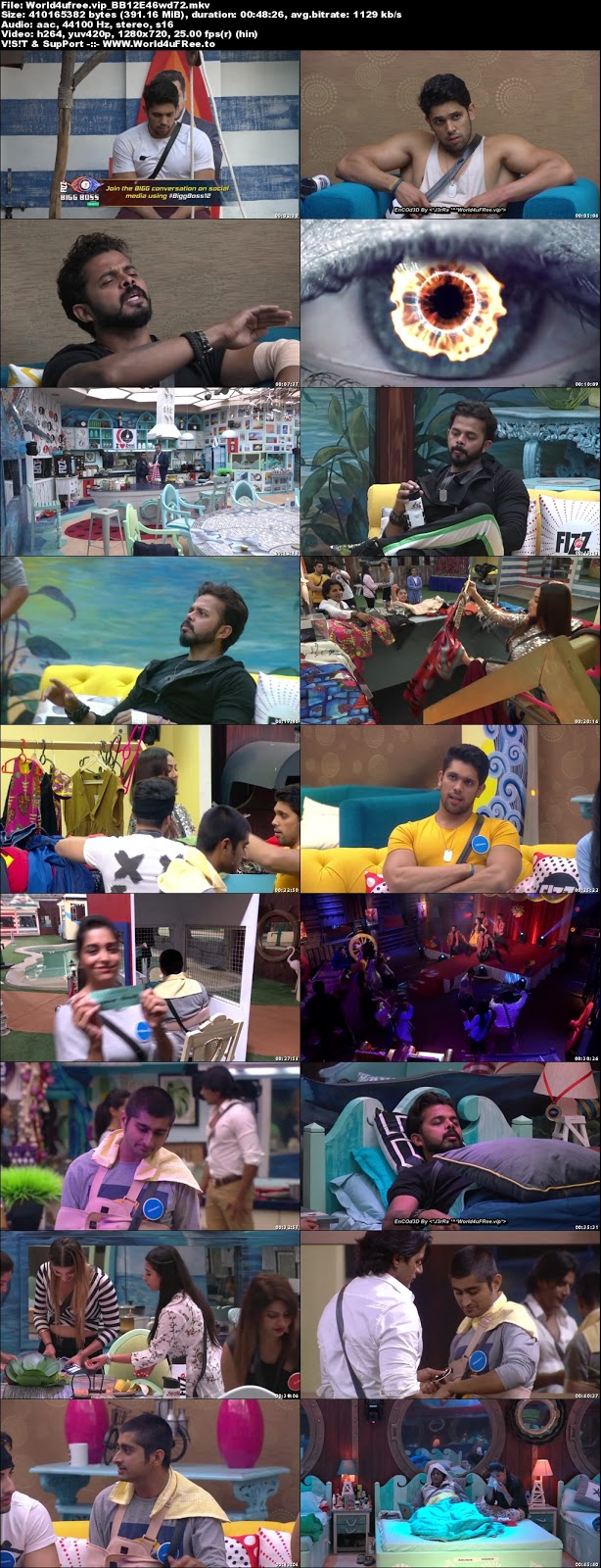 Bigg Boss 12 Episode 46 01 November 2018 720p WEBRip 350Mb x264 world4ufree.vip tv show Episode 46 01 november 2018 world4ufree.vip 300mb 250mb 300mb compressed small size free download or watch online at world4ufree.vip