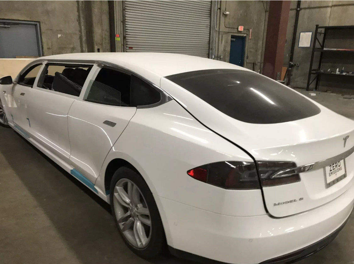 Acura 2019 Rdx >> 'World's First' Tesla Model S Limo Selling For $67k On Ebay