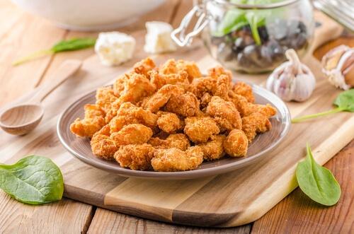 Chicken Popcorn Delicious Snacks Recipe at home