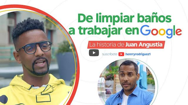 De limpiar baños a trabajar en Google // La entrevista a Juan Angustia