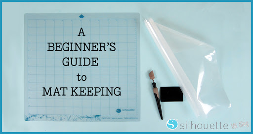 Beginner's Guide to Silhouette Mat Maintenance by Janet Packer (CraftingQuine)