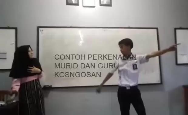 kalimat perkenalan guru murid