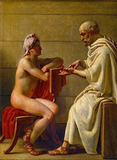 triết gia Hy Lạp Socrates and Alcibiades