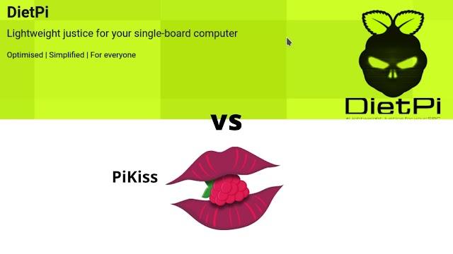 PiKiss vs Dietpi - Making installations simple on Raspberry pi