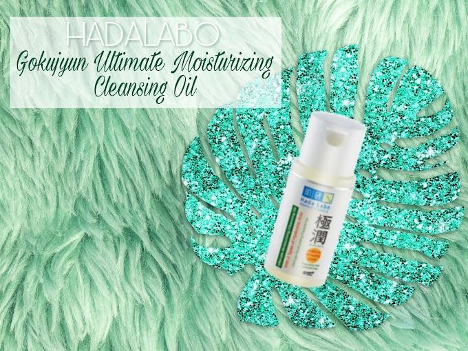 Review Hadalabo Gokujyun Ultimate Moisturizing Cleansing Oil