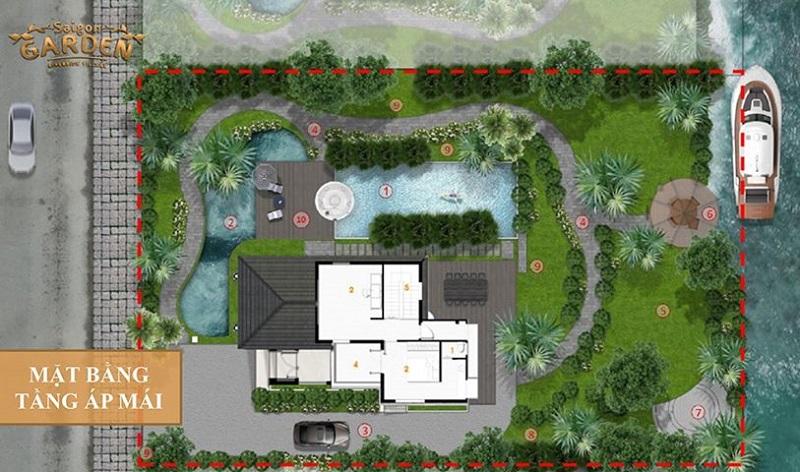 Thiết kế dự án Saigon Garden Riverside Village quận 9