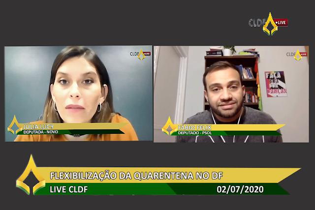 cldf live - Bancada das lives