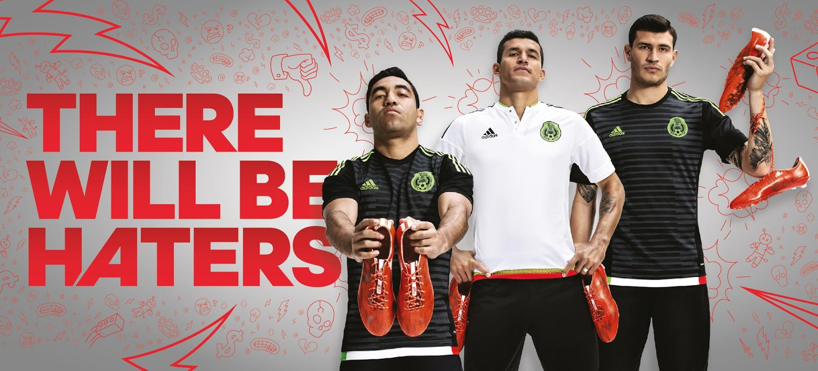 Mexico 2015 Copa America Kits Released Footy Headlines