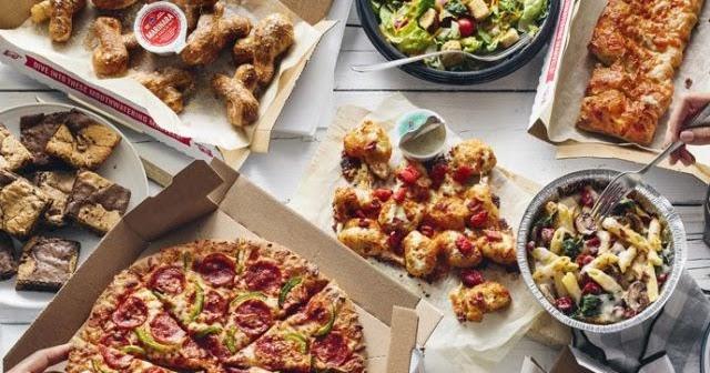 Domino S Offers 20 Percent Off Regular Priced Menu Items